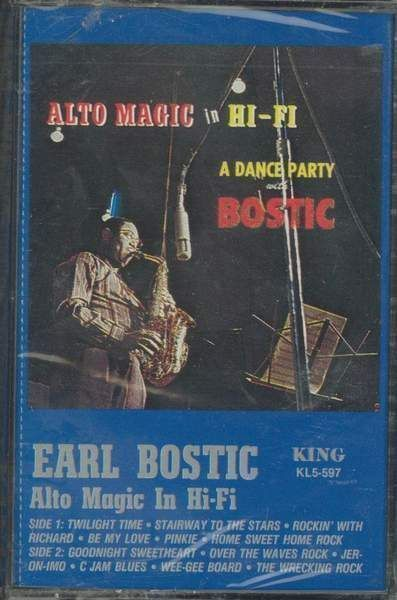 Earl Bostic - Alto Magic In Hifi - A Dance Party
