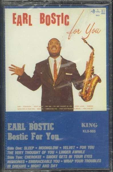 Earl Bostic - Bostic For You
