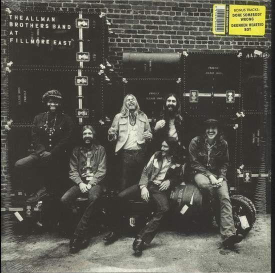 Allman Brothers Band - The Allman Brothers Band At Fillmore East Record