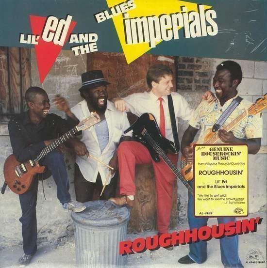 Lil' Ed & The Blues Imperials - Roughhousin' CD