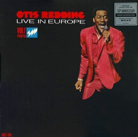 Otis Redding - Otis Redding Live In Europe LP