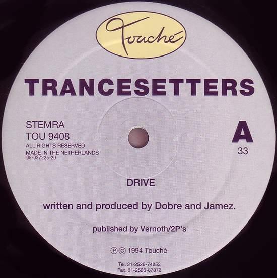 "Trancesetters - Drive - 12"""