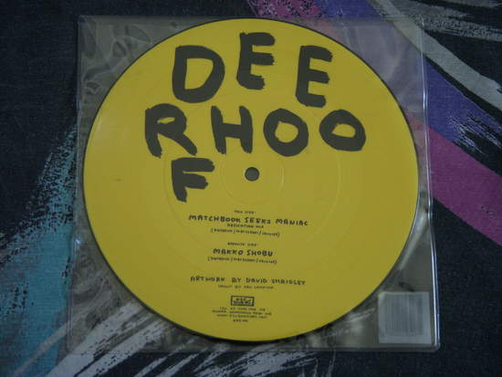 "Deerhoof - Matchbook Seeks Maniac - 7"" Pic Disc"