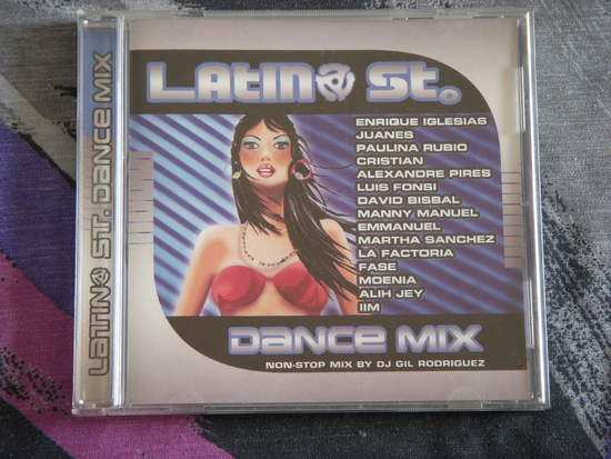 Latin St. - Dance Mix Non Stop Mix - CD