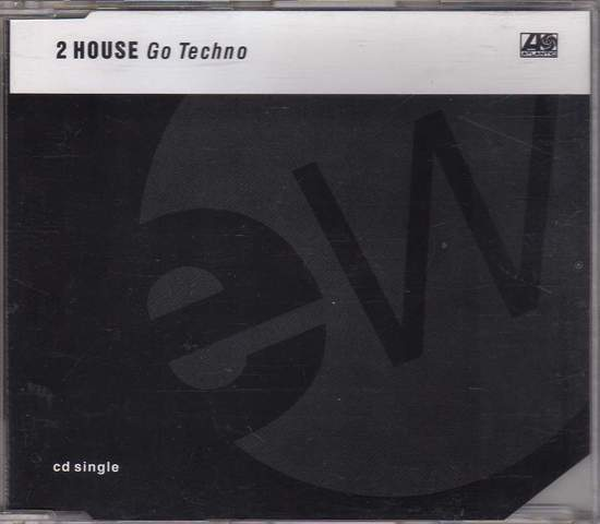 2 House - Go Techno - CD Maxi Single