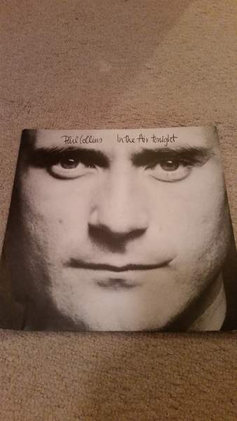"Phil Collins - In The Air Tonight - 7"" PS"