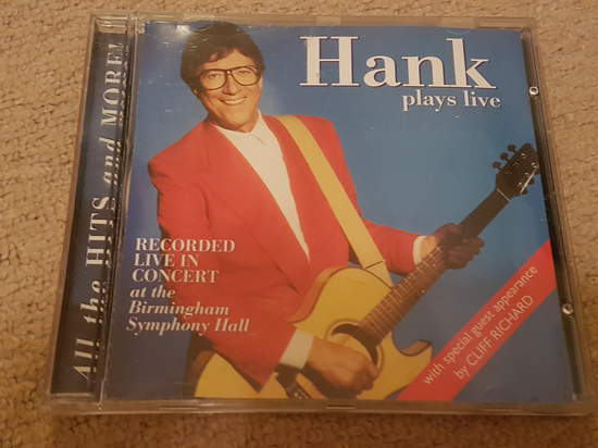 Hank Marvin - Hank Plays Live - CD