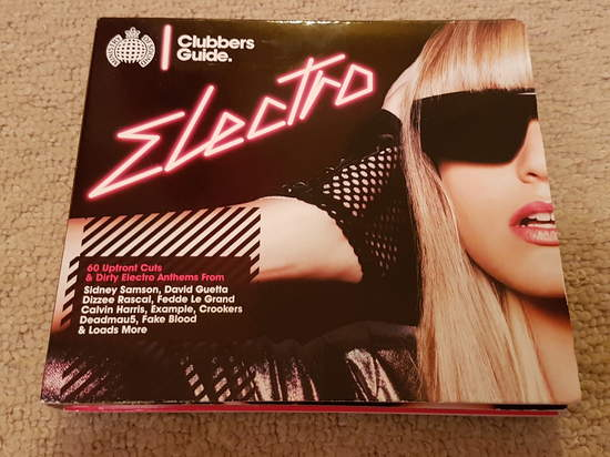 Various Artists - Ministry Of Sound Clubbers Guide Electro - 3CD