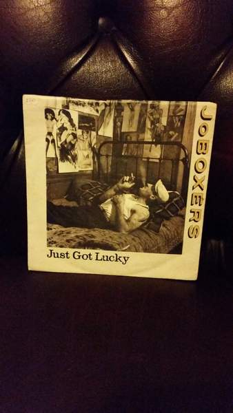 "Jo Boxers - Just Got Lucky - 7"" PS"