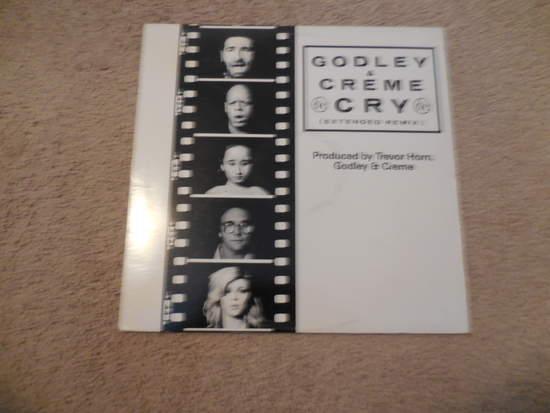"""Godley & Crem - Cry - 12"""" Mini LP"""