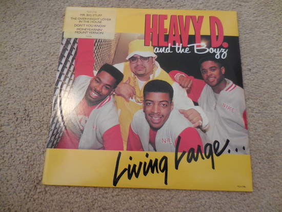 Heavy D & The Boys - Living Large - LP