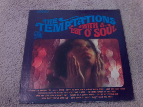 Temptations - With A Lot O' Soul - LP