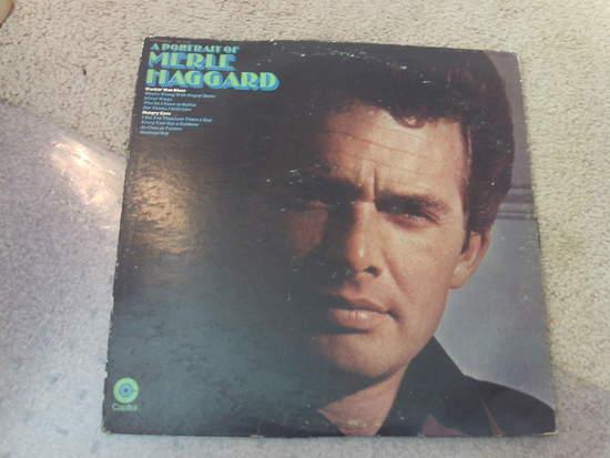 Merle Haggard - Portrait Of Merle Haggard - LP