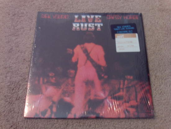 Neil Young - Live Rust - 2LP