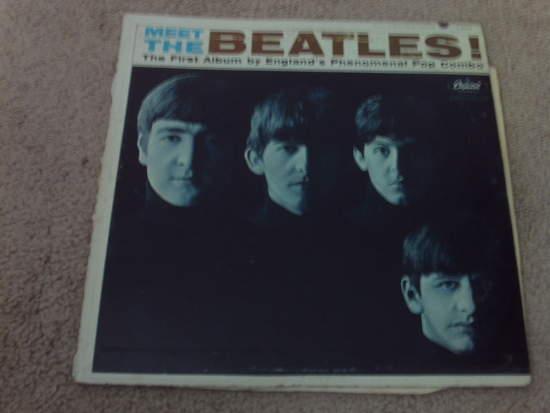 Beatles - Meet The Beatles - LP