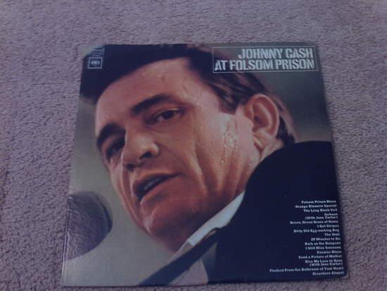 Johnny Cash - At Folsom Prison - LP