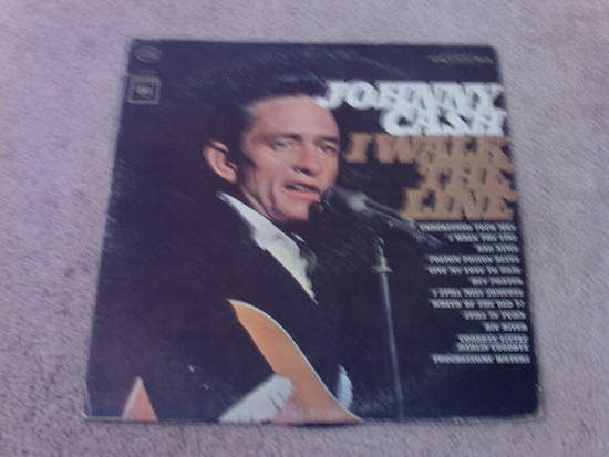Johnny Cash - I Walk The Line LP