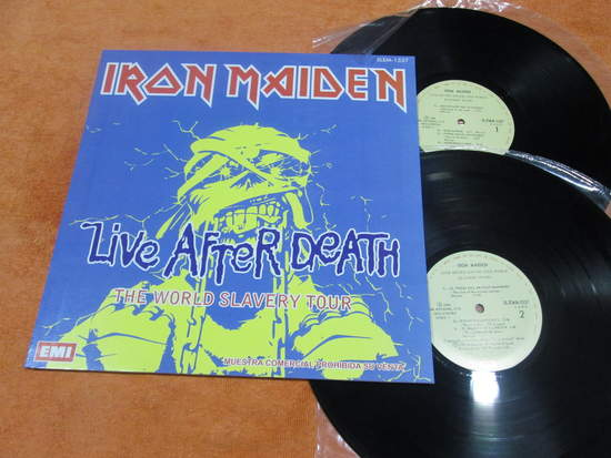 Iron Maiden - Live After Death - LP