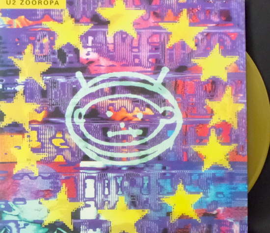 U2 - Zooropa-colored - LP