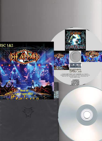 Def Leppard - Best Viva Hysteria Residency, Las Vegas 2013 (4cds) - 4CD