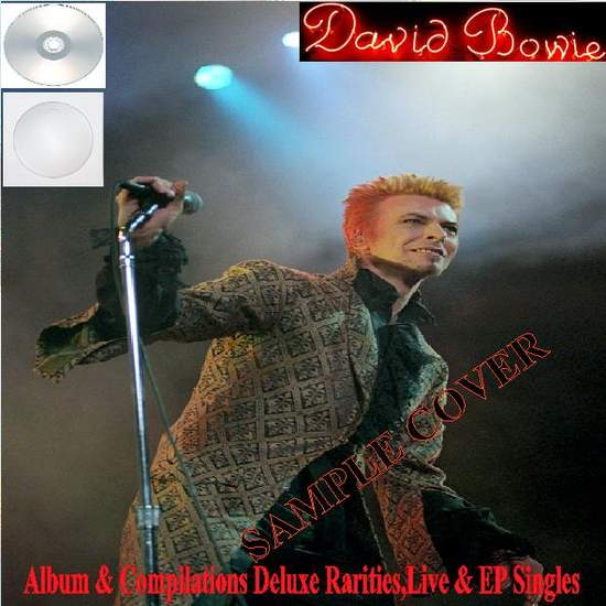David Bowie - Album & Compilations Deluxe Rarities,live & Ep Singles Vol.6 (24cd) - CD