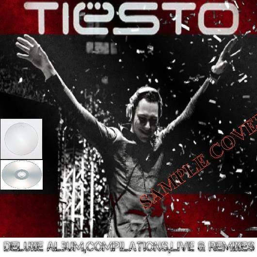 Dj Tiesto - Deluxe Album,compilations,live & Remixes Vol.8 (22cd) - CD
