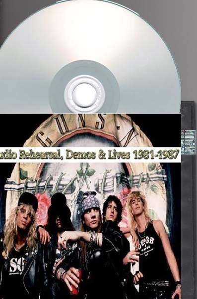 Guns N' Roses - Studio Rehearsal, Demos And Lives 1981-1987 - 3CD