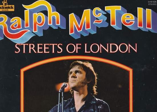 Mctell,ralph - Streets Of London - LP