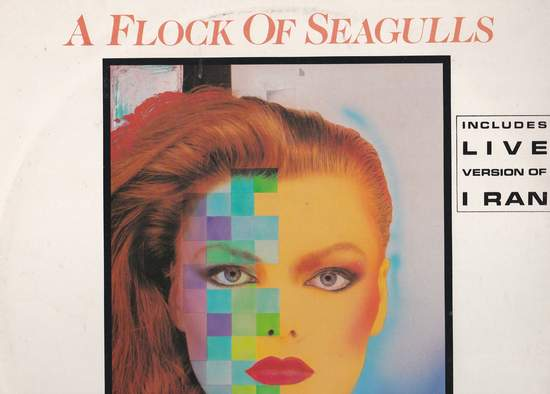 """Flock Of Seagulls - Transfer Affection - 12"""" PS"""
