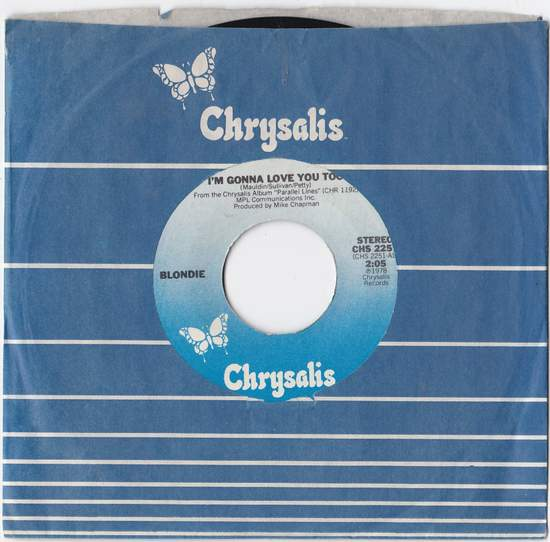 Blondie - Just Go Away - 7""