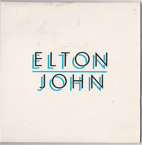 "John,elton - Cold As Christmas (dbl Pack) - 7"" PS"
