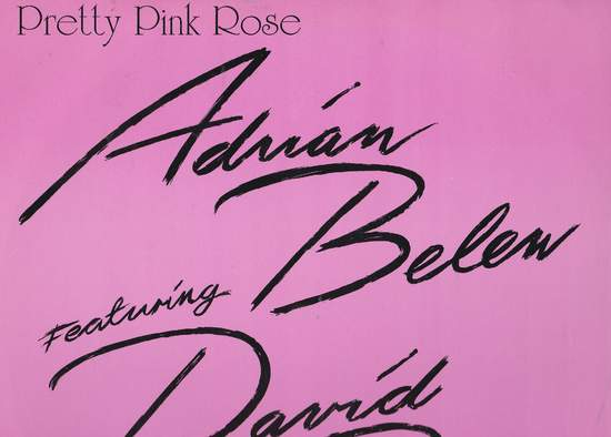 """Belew,adrian Featuring David Bowie - Pretty Pink Rose - 12"""" PS"""
