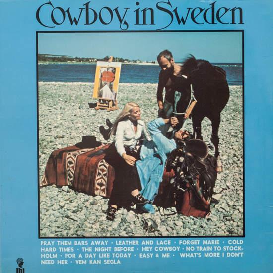 Lee Hazlewood - Cowboy In Sweden - LP