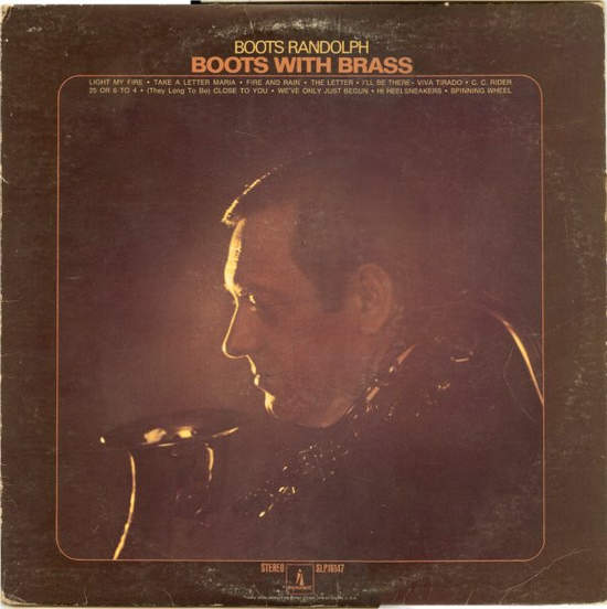 Boots Randolph - Boots With Brass - LP