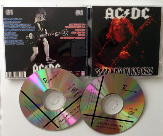 AC/DC - To Be A Fly On The Wall - CD