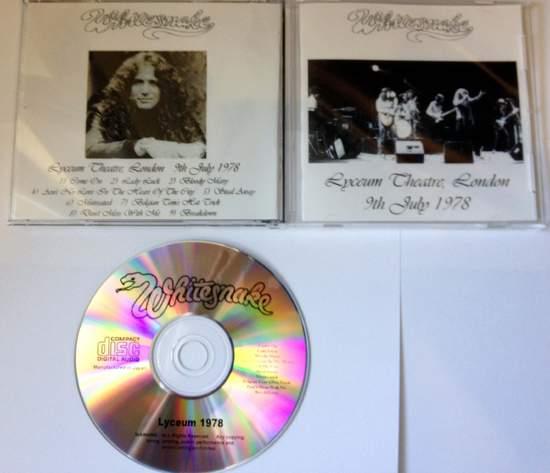 Whitesnake - At The Lyceum 1978 - CD
