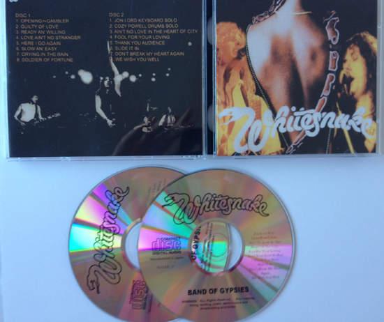 Whitesnake - Band Of Gypsies Live London 1984 - CD
