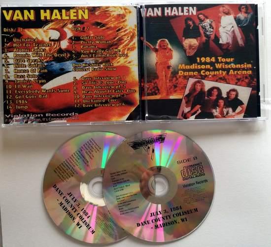 Van Halen - Madison 84 - CD