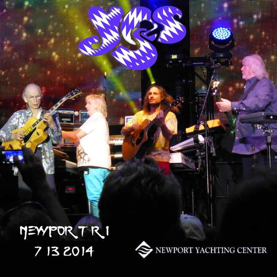 Yes - Newport Ri 2014 Live - CD