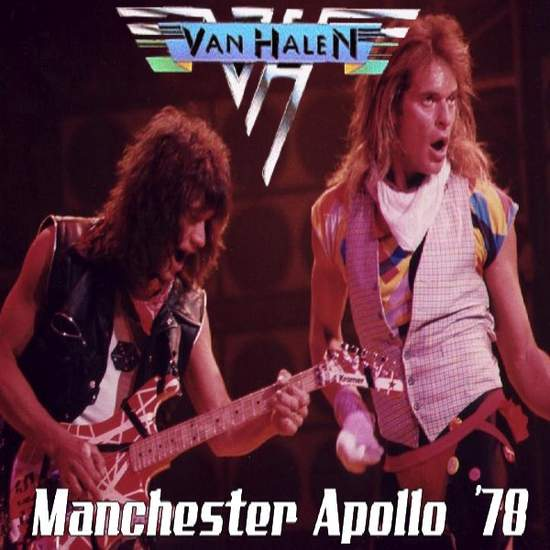 Van Halen - Manchester 78 - CD