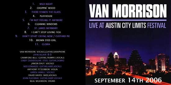 Van Morrison - Austin City Limits - CD