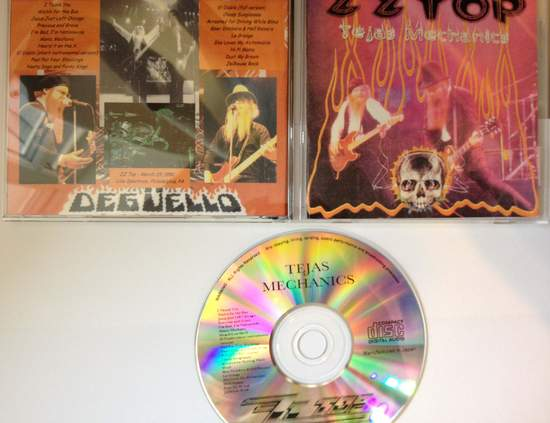 Zz Top - Tejas Mechanics - CD