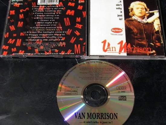 Van Morrison - It Aint Why It Just Is - Live - CD