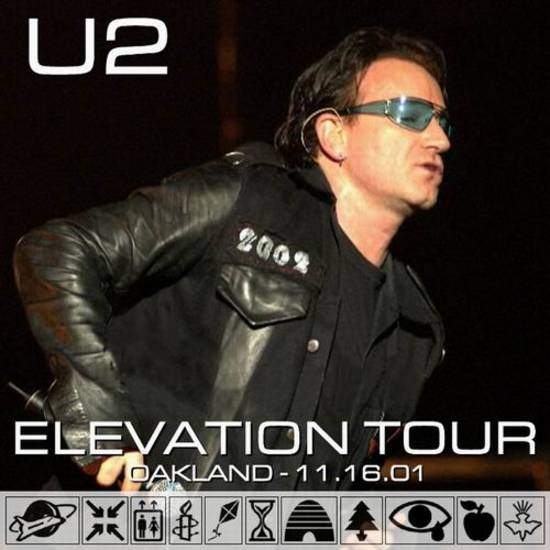 U2 - Oakland - 2001-11-16 - CD