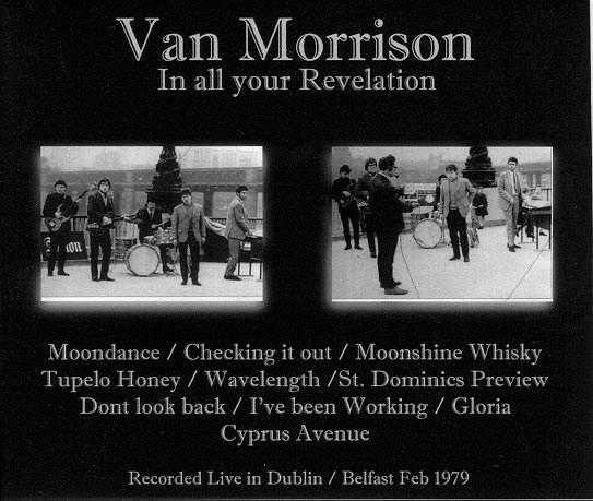 Van Morrison - In All Your Revelation, Live - CD