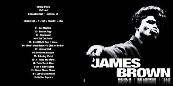 James Brown Live Augusta 1969