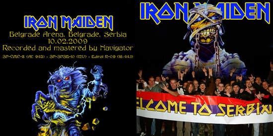 Iron Maiden Belgrade 2009