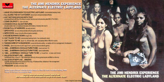 Jimi Hendrix Alternate Electric Ladyland
