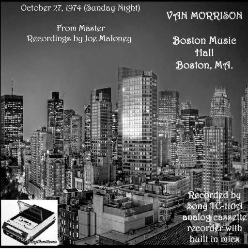 Van Morrison - Boston 1974 - CD