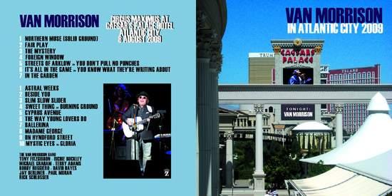 Van Morrison - Atlantic City 2008 - CD
